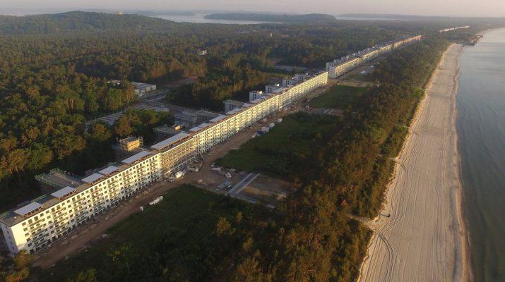 Foto La trasformazione del resort nazista a Rügen
