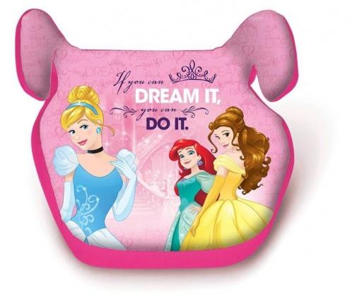 In auto le bambine viaggiano più comodi e più sicuri con l'alzatina per il sedile ispirata alle principesse della Disney