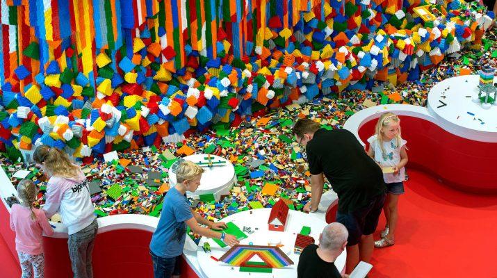 """Foto Lego-mania: la """"Casa dei mattoncini"""" di Billund"""