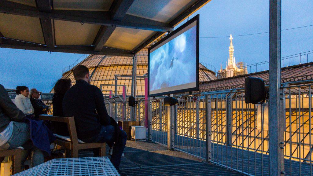 Il cinema sui tetti della Galleria