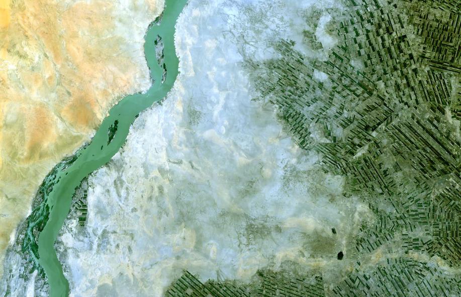 L'Africa vista dall'alto