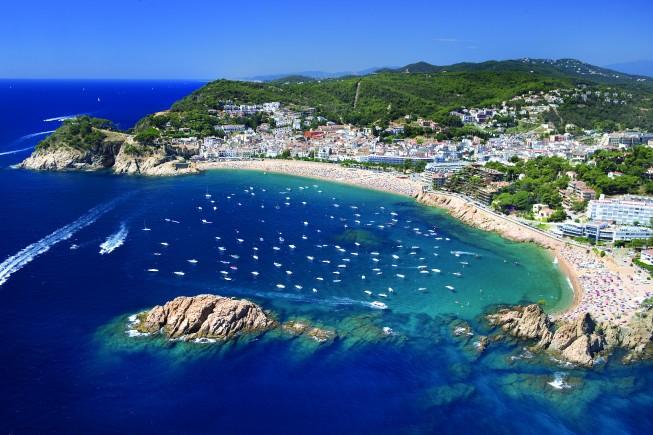 Tossa de Mar des del cel_Miguel Angel Alvarez_Agència Catalana de Turisme