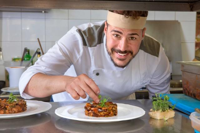 Joseph Micieli, chef dello Scjabica, a Puntasecca.