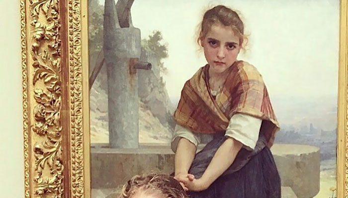Foto Il sosia al museo