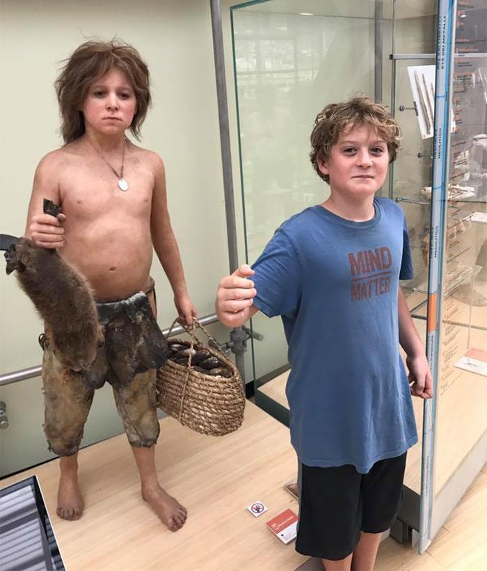 Il sosia al museo