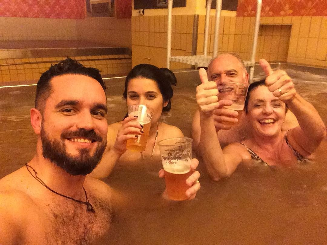 Un tuffo nella birra in Austria