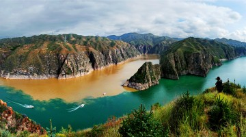 6-Three Gorges of the Yellow River in Yongjing