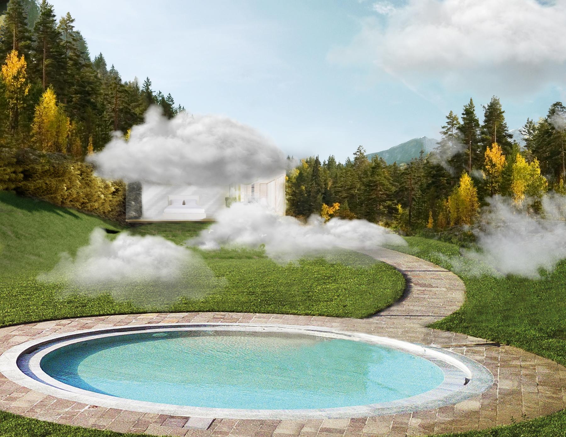 Dormire (gratis) nella nuvola del benessere sulle Dolomiti