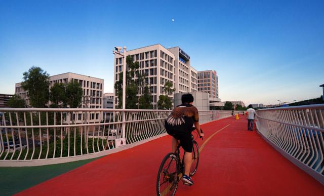 In bici tra i grattacieli di Xiamen