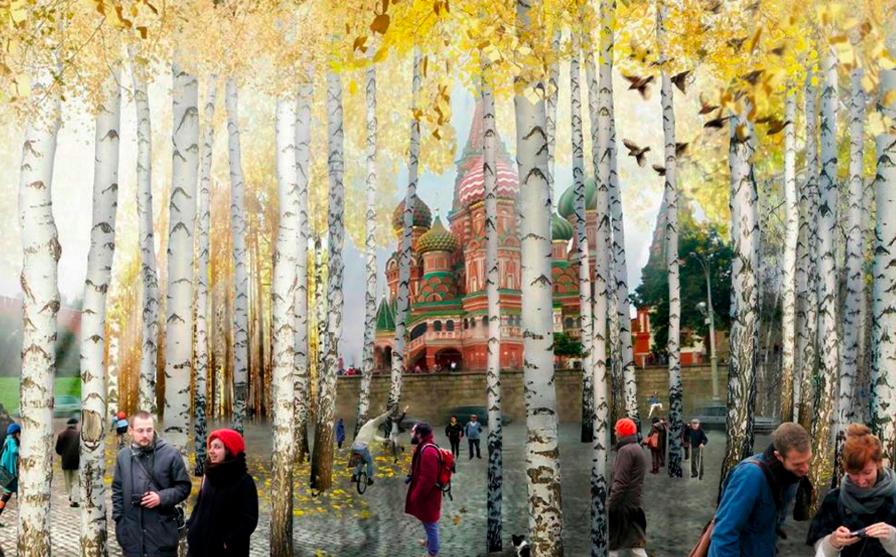 Il nuovo parco cittadino di Mosca (voluto da Putin)