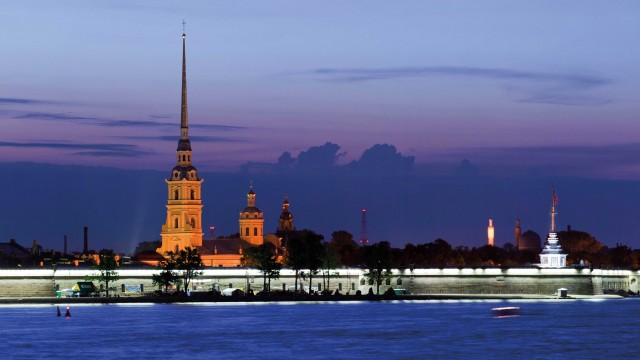 San Pietroburgo e la Rivoluzione d'Ottobre