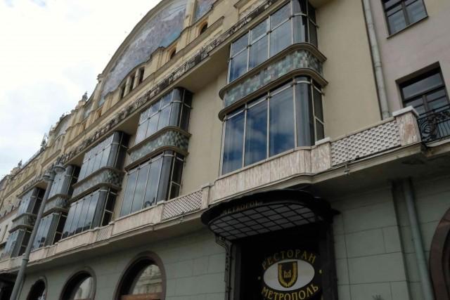 L'hotel Metropol di Mosca: magnifico esempio di Art Nouveau fu anche teatro degli eventi rivoluzionari del 1917.