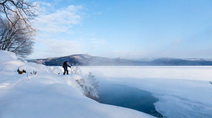 Foto Hokkaido: il Giappone con la neve
