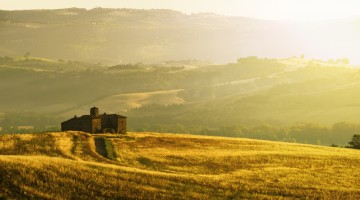Sunny Landscape in Umbria
