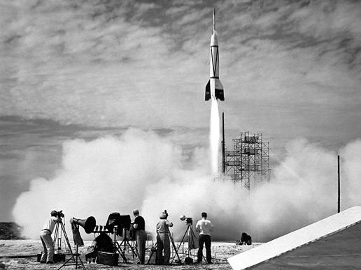 24 luglio 1960, lancio del primo missile da Cape Canaveral.