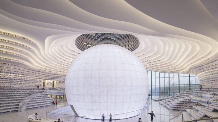 Foto Cina, una perla di biblioteca