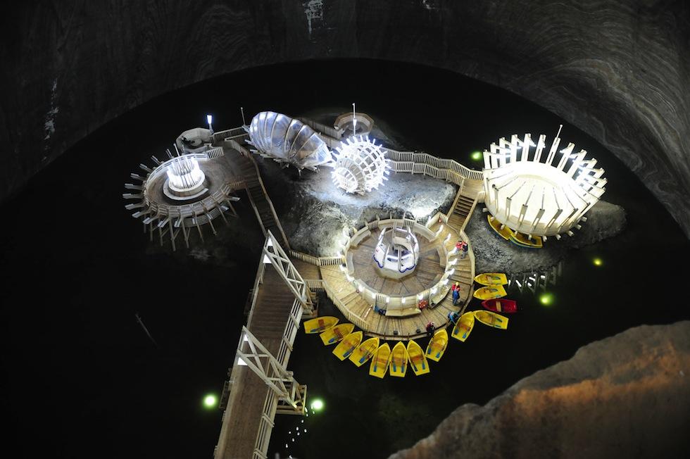 Romania: il parco divertimenti sottoterra