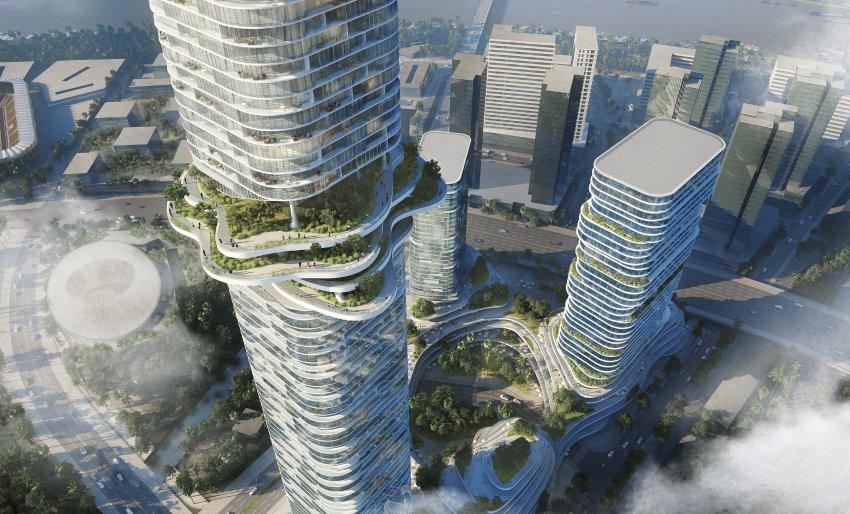 Una foresta in mezzo al grattacielo