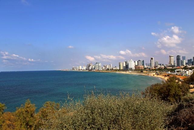 Il mare di Tel Aviv.