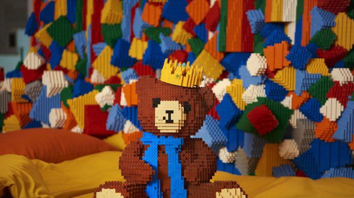 Foto Una notte nella casa dei Lego