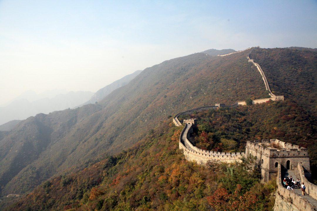 La Grande Muraglia a Mutianyu, Cina
