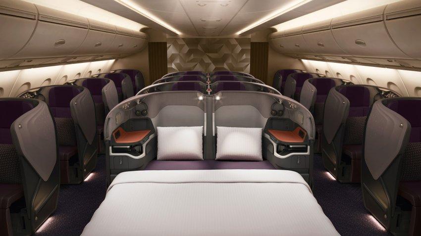 Singapore Airlines, le nuove cabine (di lusso) dell'A380