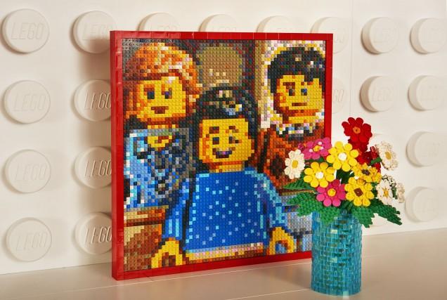 Una notte nella casa dei Lego