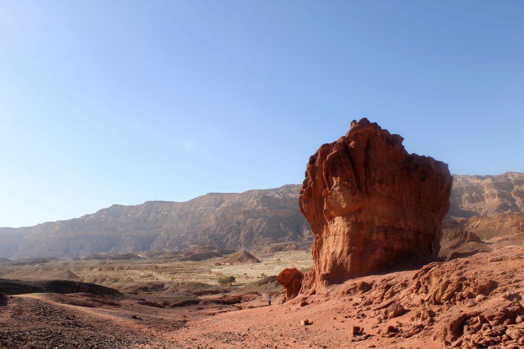 Israele, deserto del Negev: la potenza della natura