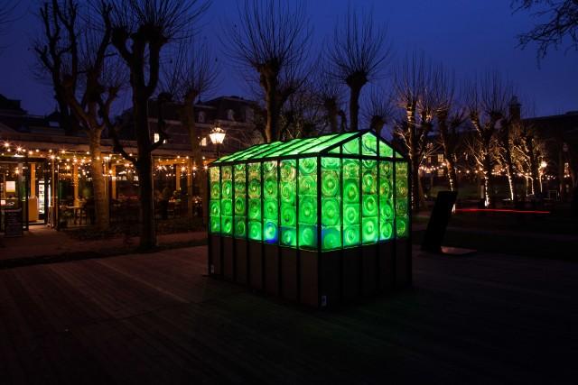 La Green House è una delle installazioni più suggestive dell'edizione 2016. Quest'anno si replica con Ai Weiwei e altri artisti olandesi e internazionali.