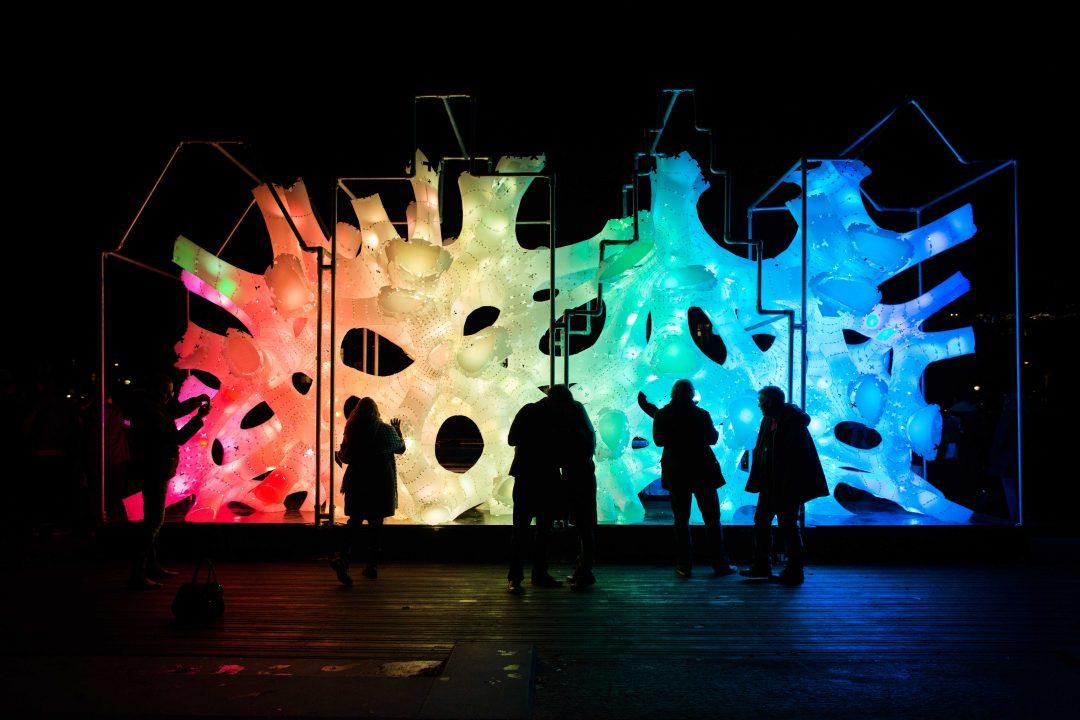 In Olanda, per l'Amsterdam Light Festival