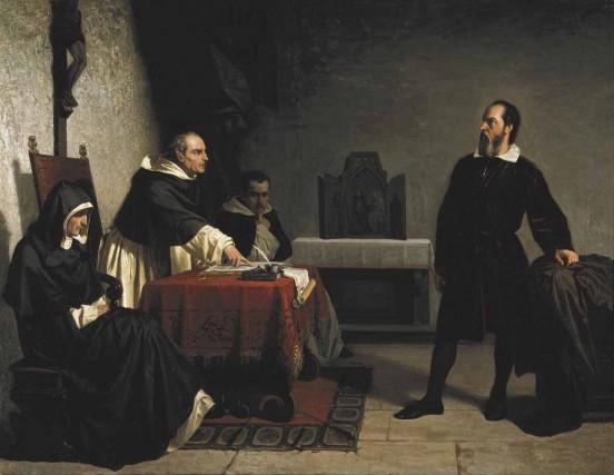 Galileo Davanti all'Inquisizione, di Cristiano Banti.