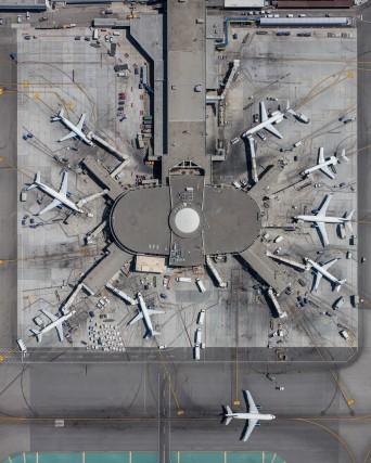 Il terminal 3 dell'aeroporto di Los Angeles