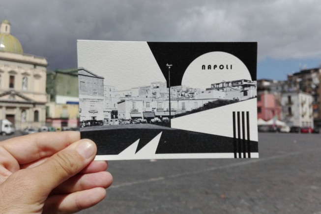 Napoli - Luca Iovino - Tweet your postcard - Naples 2017