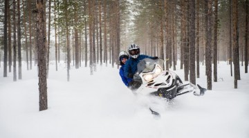 Svansele Wilderness Centre – Snowmobile 2_ph Destination Skelleftea