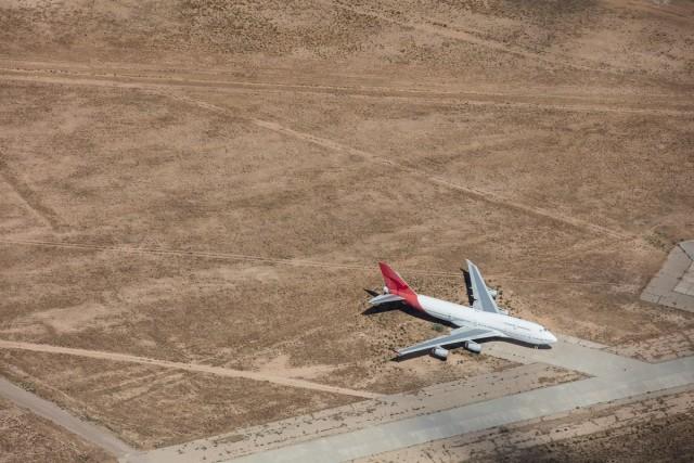 Ecco chefine fanno i vecchi aerei inutilizzati