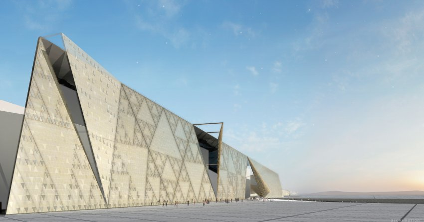 Il Grand Egyptian Museum del Cairo