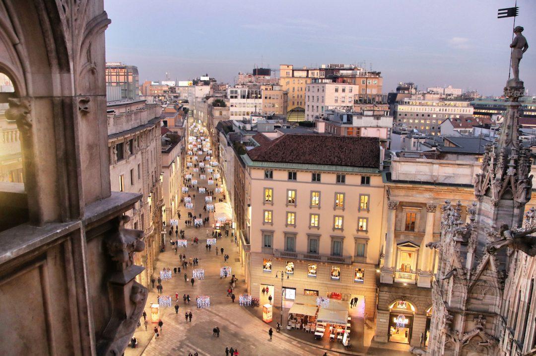 Milano dall'alto: le foto di Andrea Cherchi