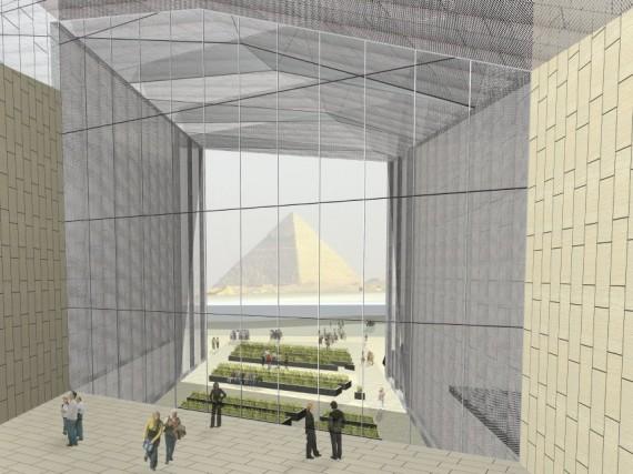 Il Grand Egyptian Museum (GEM) del Cairo è stato progettato dallo studio di architetti Heneghan Peng. La prima parte sarà accessibile ai visitatori a partire dal 2018. L'apertura è già stata rinviata più volte