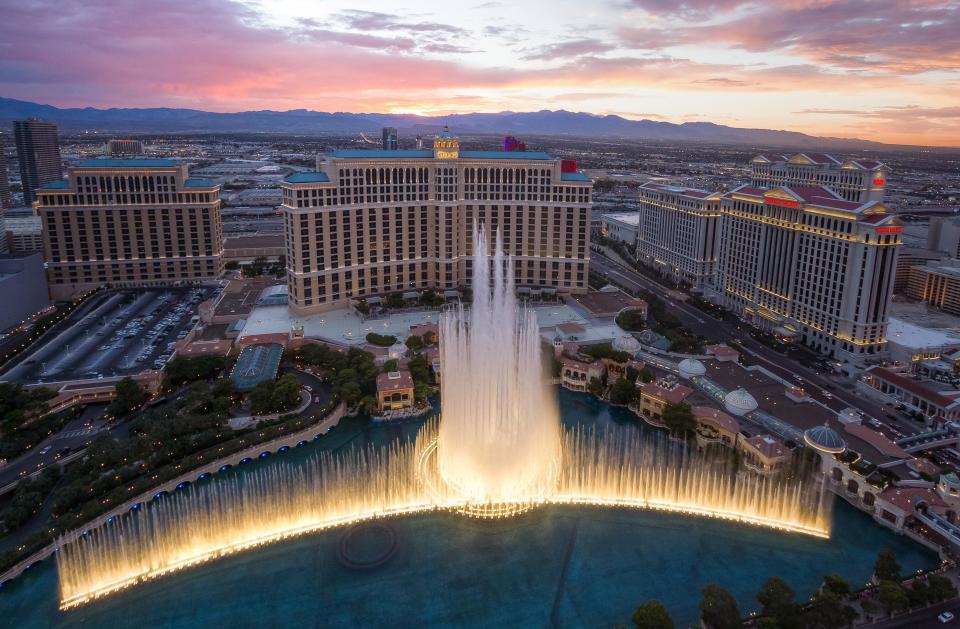 The Bellagio, Las Vegas USA