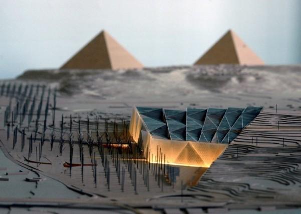 Il nuovo museo ha40.000 metri quadrati di superficie espositiva. Inoltre, aree esterne per 90.000 metri quadrati
