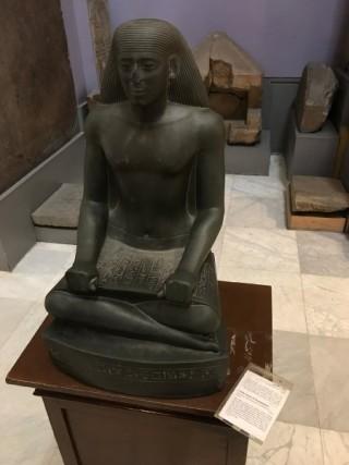 NelMuseo Egizianoc'è poco spazio e molti repertivengono oramai quasi trascurati