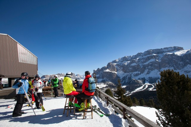 La Val Gardena è ai primi posti delle classifiche internazionali per qualità delle piste, tecnologia, cura dell'ambiente, gastronomia e attenzione alle famiglie (foto Marisa Montibeller)