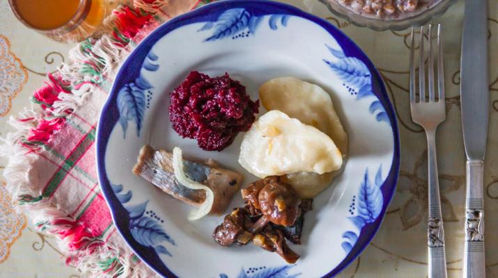 Foto Il pranzo di Natale all'estero