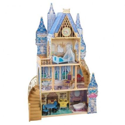 Piccole principesse crescono: a Natale il regalo perfetto è la casa delle bambole ispirata a Cenerentola. Realizzata in legno, è rifinita nei più piccoli particolari