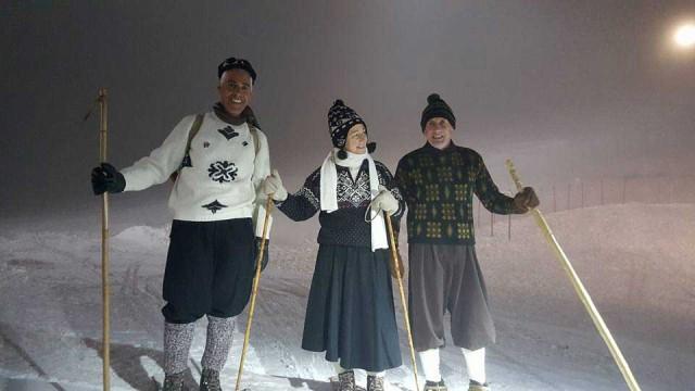 Sono molti gli eventi invernali sulla neve sull'Alpe Cimbra, dalle ciaspole con i vestiti d'antan alle passeggiate gastronomiche