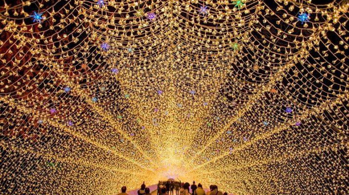 Foto Il mondo illuminato (e fatato) di Nabana no Sato