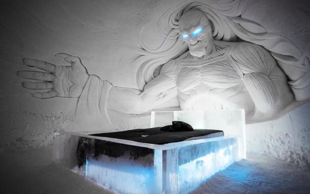 Un hotel per sentirsi a Grande Inverno