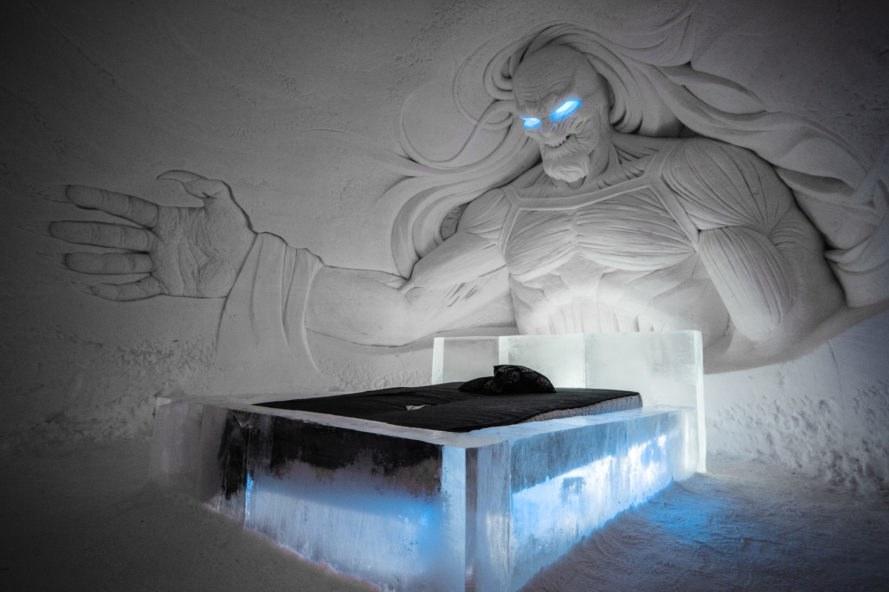 Finlandia: l'hotel di ghiaccio di Game of Thrones