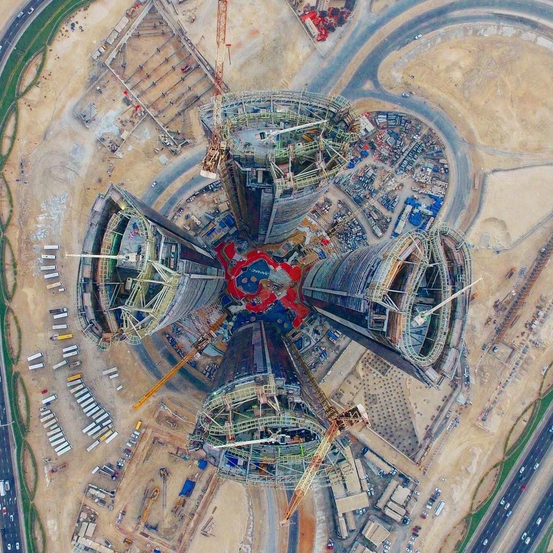 Ecco come è Dubai vista dall'alto