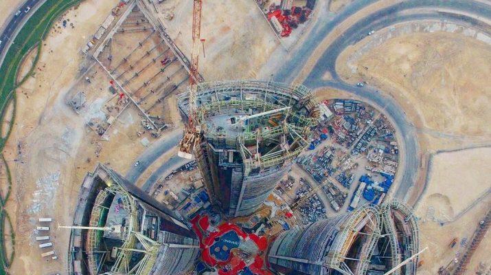 Foto Ecco come è Dubai vista dall'alto